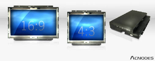 Panel Mount LCDs target outdoor applications.