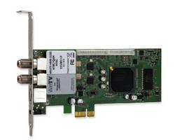TV Tuner features dual NTSC/ATSC/QAM receivers.