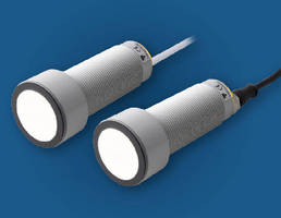 Ultrasonic Sensors offer flexible output configurations.