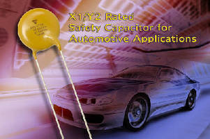 Safety Capacitors suit electric and plug-in hybrid vehicles.