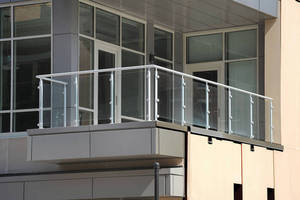 3CDC Chooses Hollaender's® Interna-Rail® VUE(TM) Glass Railing System for Historic Condominium Development
