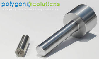 Rotary Broach facilitates in-lathe/-machine part stamping.