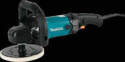 Rotary Polisher offers electronic speed control.