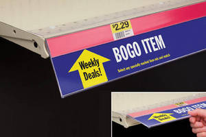Covered-Face Sign Holder displays 2X promotional messaging.