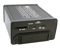 Portable DAQ System supports stand-alone or USB-powered operation.