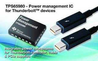 DC/DC Switching Regulator fuels bus-powered applications.