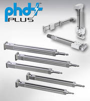 Electric Cylinders and Slides are offered in lead screw versions.