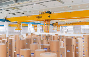 Demag Cranes for Two Paper-roll Stores in Thailand