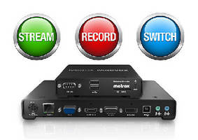 Firmware and Software support AV recording over IP.