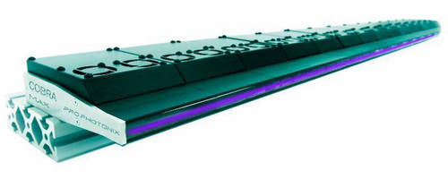UV LED Line Light serves curing, printing, machine vision markets.
