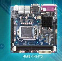 Mini-ITX Board supports gaming and industrial automation.