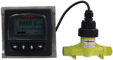 Digital Paddlewheel Flow Transmitter supports remote operation.