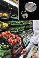 Air Curtain Emulator ensures proper fresh food placement.