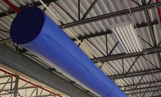 Tensioned Fabric Duct combines aesthetics and performance.