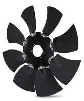 Modular Fan features swept-blade design.