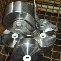 Heavy Duty Caster and Wheel are made of 100% stainless steel.