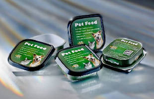 Pet Food Pack features reclosable design.