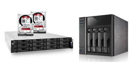 NAS Devices are available with WD Red hard drives.