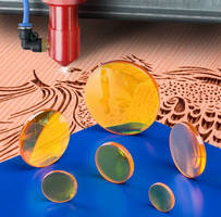 CO2 Laser Lenses penetrate thick wood.