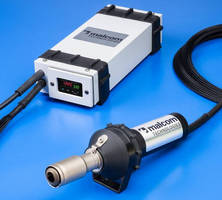 Battery-Powered Heat Gun offers digital temperature control.