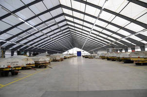 Spirit AeroSystems Adds Storage Capacity with Large Fabric Structure from Legacy Building Solutions