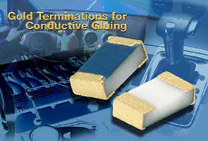 Thin Film Chip Resistors feature gold terminations.