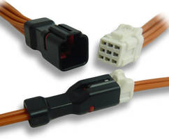 IP67 Water-Resistant In-Line Connector comes in small package.