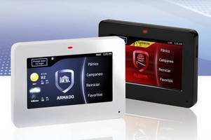 Touchscreen Graphic Keypad offers English or Spanish readout.