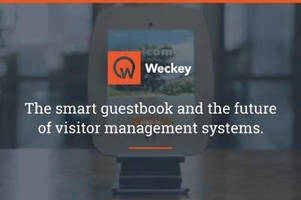 Hotel Smart Guestbook System facilitates visitor management.