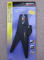 Self-Adjusting Wire Stripper features built-in cutter.