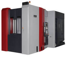 Horizontal Machining Center is built for speed and capacity.