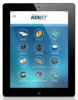 KEMET Introduces Electronic Components App for iPad®