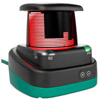PRT-Enabled 2D Laser Scanner delivers 360° distance measurement.