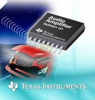 Class-D Audio Amp is suited for eCall, telematics applications.