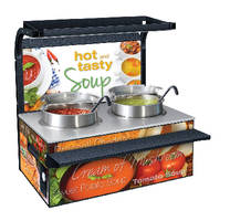 Soup Stations keep soup at safe-serving temperatures.