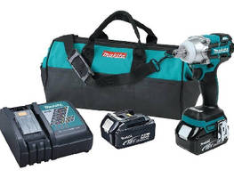 Cordless Impact Wrench delivers precise fastening control.