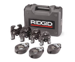 Pipe Press Kits feature blow-molded carrying case.