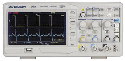 Entry-Level Digital Storage Oscilloscope offers 100 MHz bandwidth.