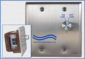 Double Gang Wallbox Switch targets IP camera systems.