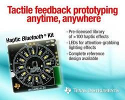 Haptic Development Kit enables tactile feedback prototyping.
