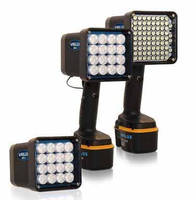 Handheld Strobe Light delivers 300-50,000 flashes/min.