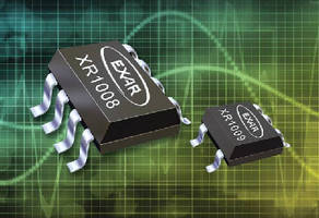 Operational Amplifiers provide rail-to-rail outputs.