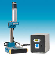 Electric Press features programmable servomotor controls.