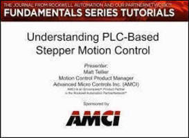 AMCI Webinar Explains PLC-Based Stepper Motion Control Basics