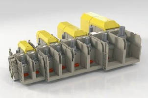 High-Power Stud Terminals accept small cable diameters.