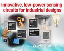 Four New Sensing Circuits Help Solve Industrial Design Challenges