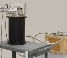 Cryocooler System utilizes recirculating helium gas.