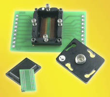 DDR3 SDRAM Socket accepts 0.8 mm pitch, 96-pin BGA ICs.