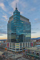 Idaho's Tallest Building Showcases Wausau's Unitized Curtainwall, a First in the State