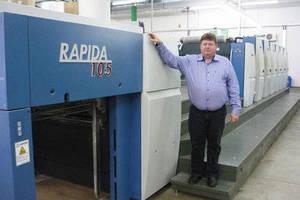 Gráfica Rex Expands Capacity with Second KBA Rapida 105